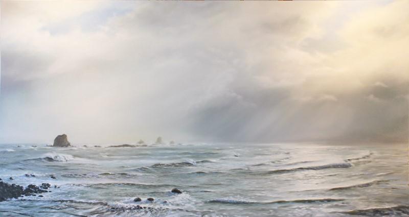 <p>West coast, South Island, New Zealand. Original Oil Painting</p>