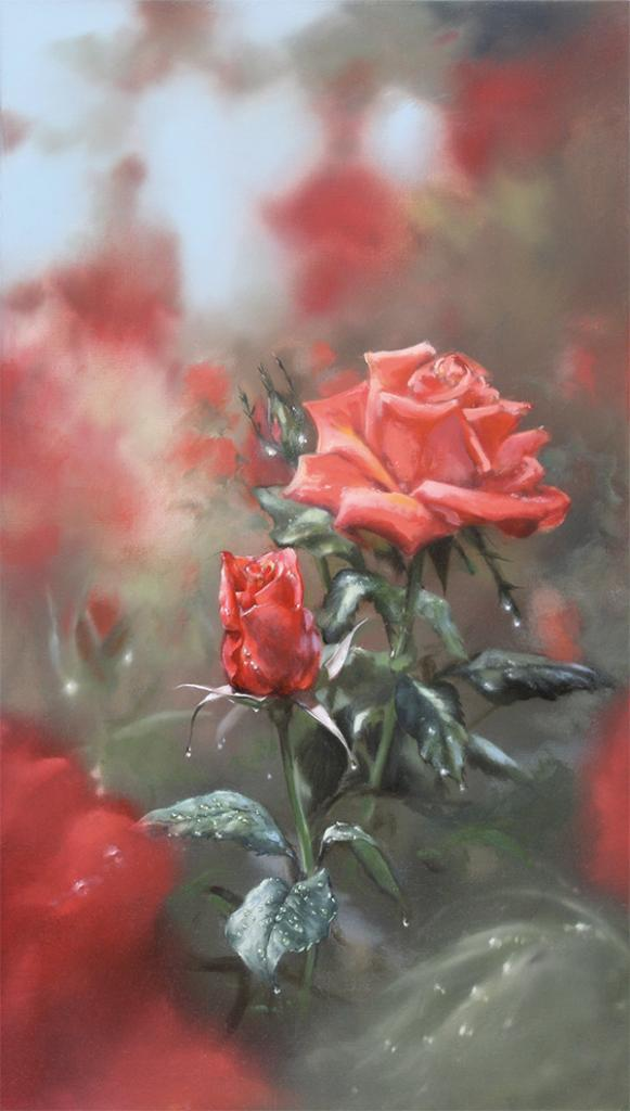 <p>Rose - Original Oil Painting.</p>